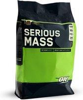 Optimum Nutrition - Serious mass gainer 5450 gram Vanille