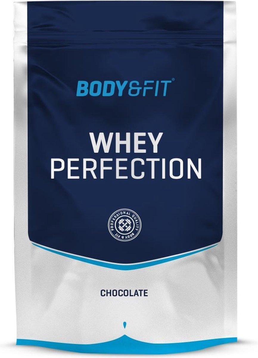 Body & Fit Whey Perfection - Whey Protein / Proteine Shake - 750 gram - Chocolade