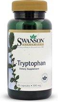 Swanson Health L-Tryptofaan 500mg - Essentieel Aminozuur - 60 capsules