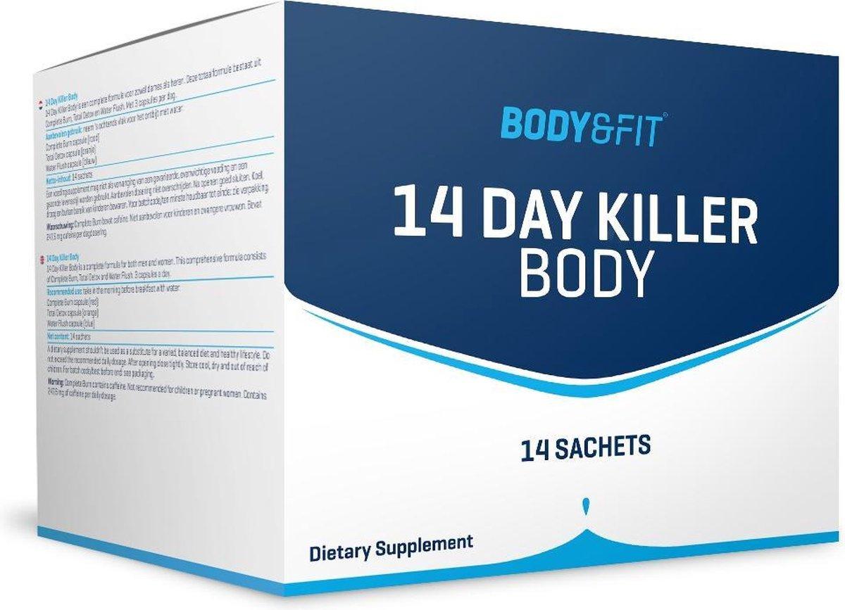 Body & Fit 14 Day Killer Body - Complete Burn, Total Detox & Water Flush - Voor Mannen & Vrouwen - 1