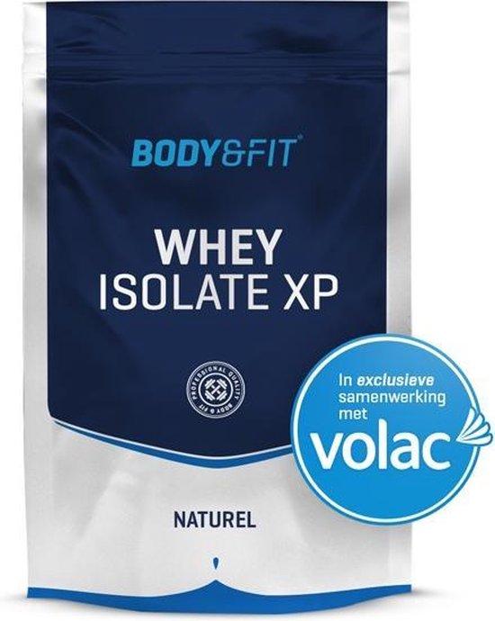 Body & Fit Whey Isolaat XP - Eiwitpoeder / Eiwitshake - 750 gram - Naturel (zonder smaak)