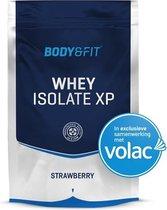 Body & Fit Whey Isolaat XP - Eiwitpoeder / Eiwitshake - 750 gram - Strawberry flavour