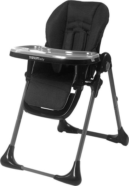 Titaniumbaby Kinderstoel deluxe - Grijs
