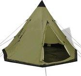 Vidaxl Tent - Groen - 4 Persoons