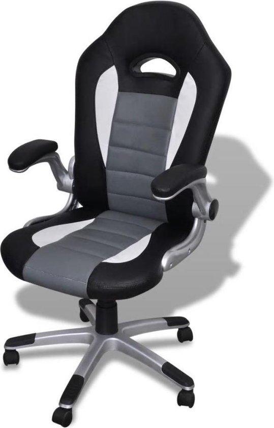 Mooie Stevige Bureaustoel.Bol Com Hjh Office Racer Sport Bureaustoel Game Zwart Grijs