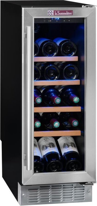 Koelkast: La Sommeliere CVDE21 - Wijnkoelkast - 21  flessen, van het merk La Sommelière
