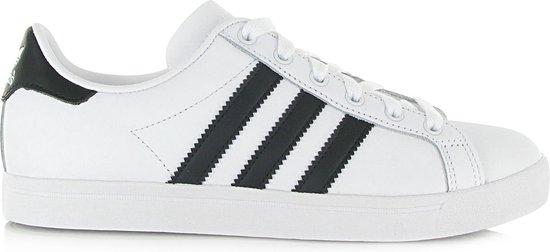 adidas Coast Star Heren Sneakers - Ftwr White/Core Black/Ftwr White - Maat 42 2/3