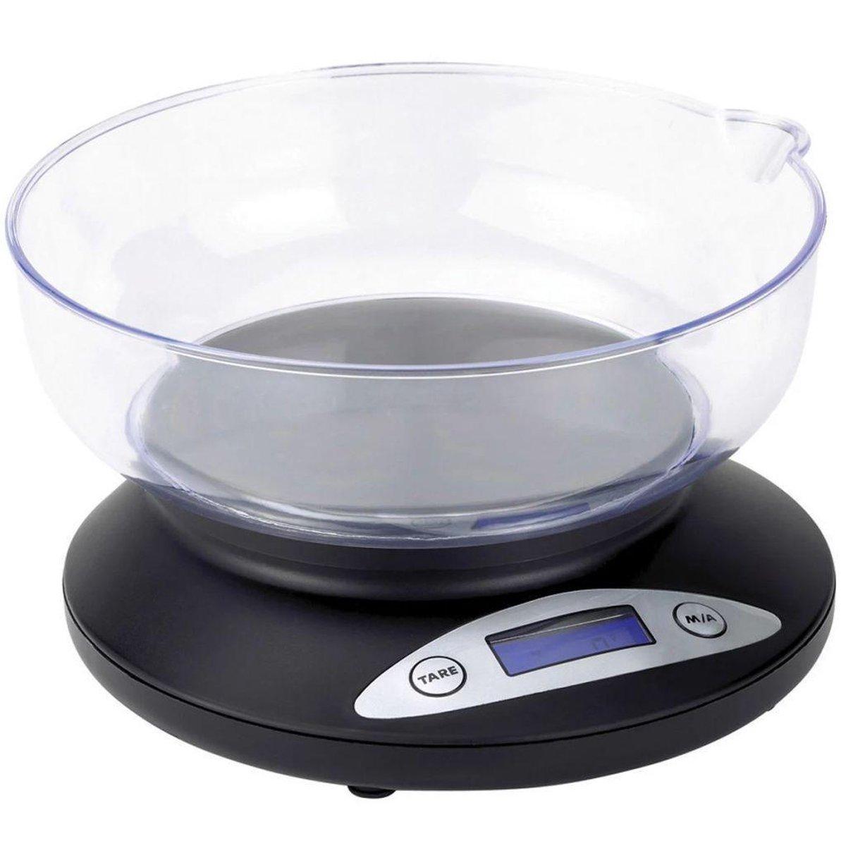 Tristar Keukenweegschaal KW-2430 - Tot 2 kg - Zwart