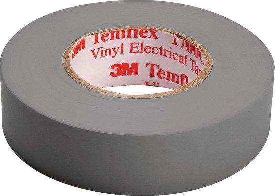 3M Temflex isolatie tape - 15 mm / 10 meter - grijs