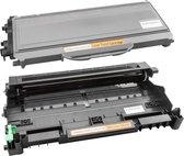 Toner cartridge/Alternatief Spaarset Brother TN-2120 toner + DR2100 drum | DCP-7030/ DCP-7040/ DCP-7045/ DCP-7045N/ HL-2140-US/ HL-2150N/ HL-2170W/ MFC