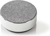 Nedis Luidspreker met Bluetooth® | 9 W | Metal design | Aluminum-zilver