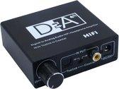 Coretek Digitaal naar analoog audio converter (DAC) met hoofdtelefoon versterker