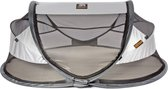DERYAN Travel Cot Baby Luxe Campingbedje - Silver - 2021