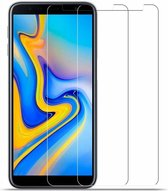 2X/2Pack Samsung Galaxy J4+ (Plus) 2018 Beschermglas Screenprotector / Tempered Glass Screen