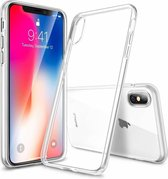 iPhone X / Xs TPU Case Full Transparant - Ultra dun hoesje