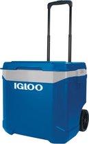 Igloo Latitude 60 roller - Grote koelbox op wielen - 56 Liter - Blauw