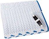 Inventum HN1312V - Elektrische deken- 150x 80 - Wit | Blauw