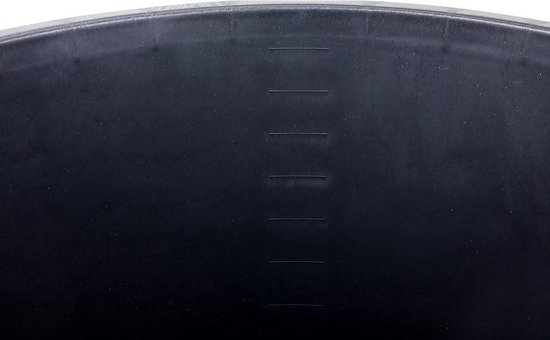 Gripline speciekuip - 65L - kunststof - zwart