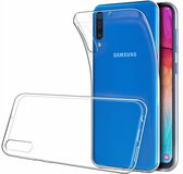 Ntech Samsung Galaxy A50 TPU Back hoesje - Transparant