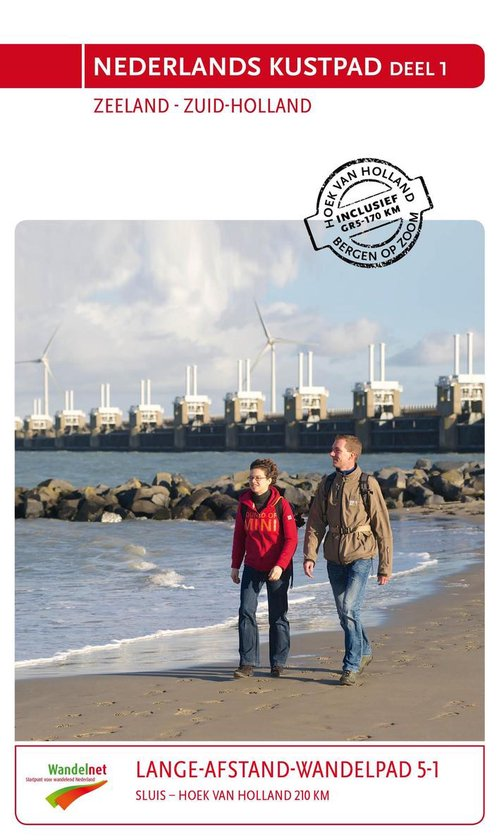 Lange-afstand-wandelpad 5 Nederlands kustpad deel 1 Zeeland Zuid-Holland - none  