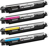 PlatinumSerie® 4 Toners alternatief voor HP CF350A - CF353A black cyaan magenta yellow XXL
