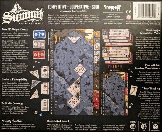 Thumbnail van een extra afbeelding van het spel Summit - The Board Game