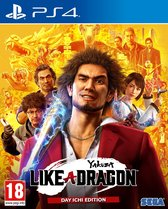 Yakuza - Like A Dragon - Day Ichi Edition - PS4