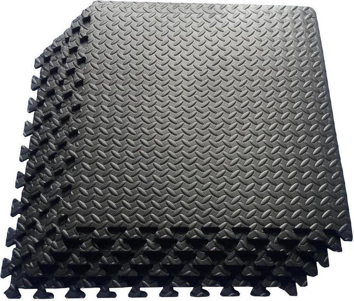 zwembad onderhoud - 6 tegels - zwembad tegels - ondertegels - ondervloer - grondzeil - fitness mat -