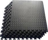 zwembad onderhoud - 6 tegels - zwembad tegels - ondertegels - ondervloer - grondzeil - fitness mat - Grijs foam