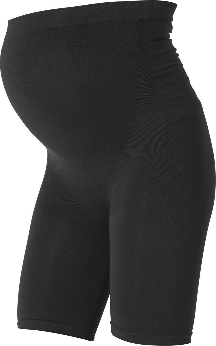 Mama Licious Positiemode Zwangerschaps Biker Shorts - Zwart - Maat L/XL
