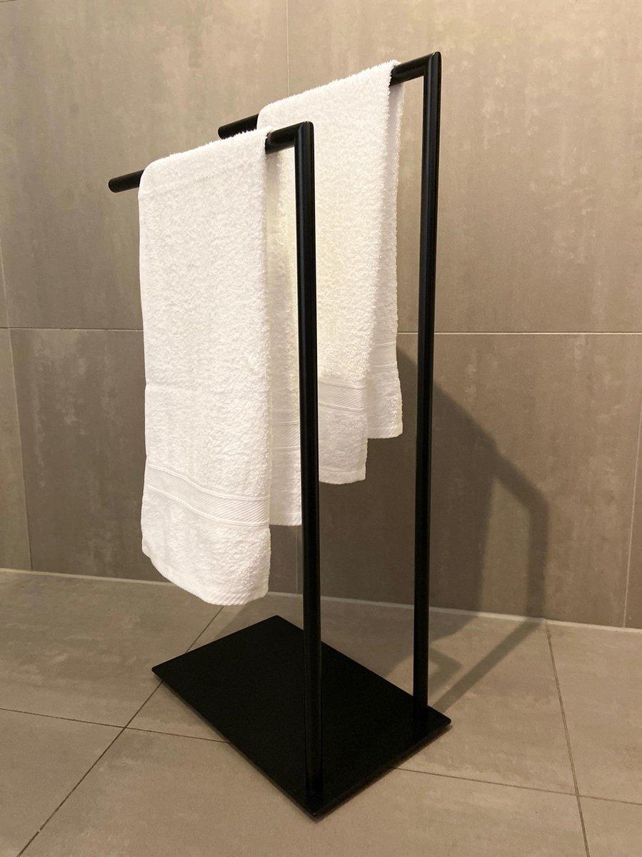 Industriële handdoekhouder zwart / handdoekenrek/ handdoekhouders