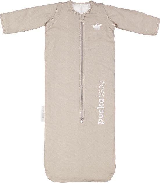 Puckababy Babyslaapzak Bag 4 Seasons 6m-2,5 jaar - 100cm - Sand Stripe