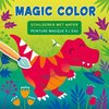 Afbeelding van het spelletje Dino Magic Color schilderen met water / Dino Peinture magique à l'eau