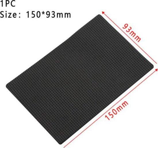 Meubel Onderzetters - Anti-slip Rubber - Zwart