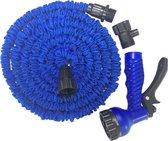 Baymate Flexibele Tuinslang  en Tuin Bewatering uitrekbare tuinslang met 7 in 1 sproeikop-25FT / 7.5m