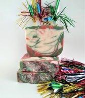 Merry Berry Zeep - handgemaakte natuurlijke zeep  /  Savon naturel artisanal - Merry Berry