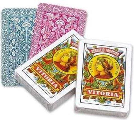 Afbeelding van het spel Spaanse Speelkaarten Fournier nr. 12 (50 kaarten)