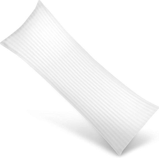 Osteomedix® - Ergonomisch Lichaamskussen - Zwangerschapskussen - Voedingskussen - Kniekussen - Body Pillow met afneembare comforthoes