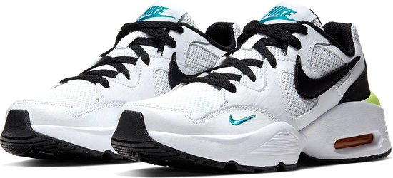 Nike De Nike Air Max F Sneakers - Maat 39 - Unisex - wit,zwart,blauw,geel