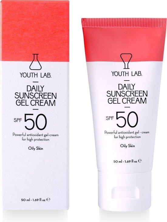 YOUTH LAB - Daily Sunscreen Gel Cream - Oily Skin - SPF 50
