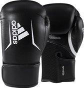 Adidas Speed 100 - Bokshandschoenen - Zwart/Wit - 12oz