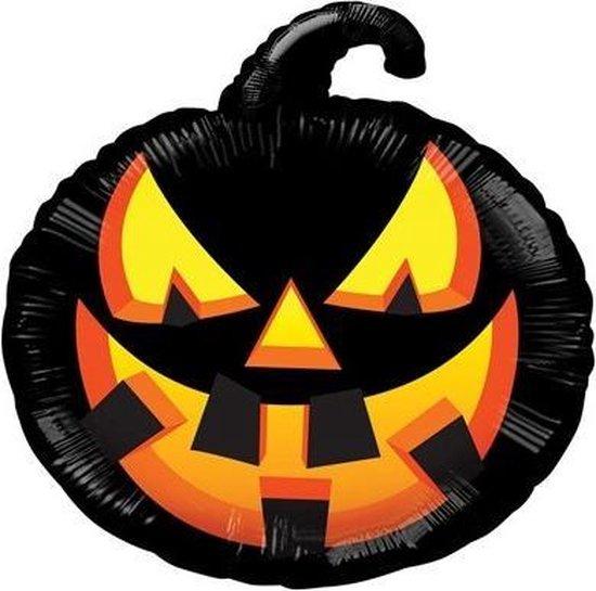 Halloween folieballon pompoen