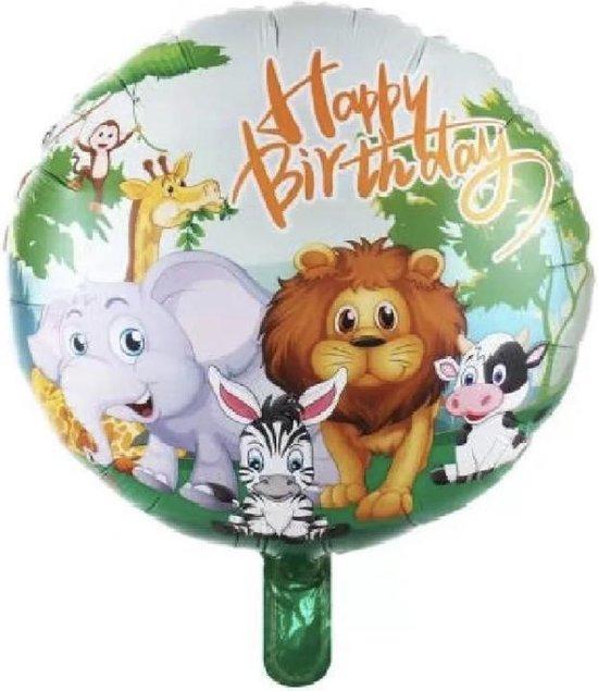 Happy-Birthday-Jungle-18-Inch-Folie-Ballon