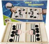 Grappig Schiet Bordspel | Katapult Schiet Bordspel | Houten Bordspel | Interactief Sling Puck Speelgoed | Hockey Schiet Spel | Sling Puck | Het nieuwe tafel Bordspel van 2020!
