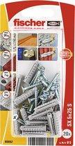 Fischer SX 5x25 S nylon pluggen en schroeven (25 stuks)
