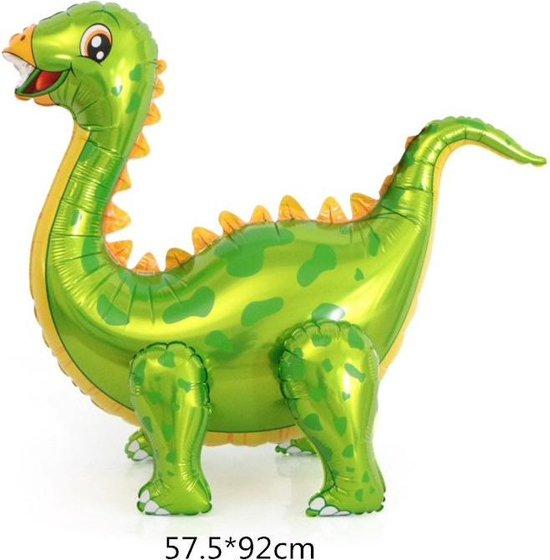 Folieballon van GROTE Dinosaurus (Brachiosaurus) Groen (31252)