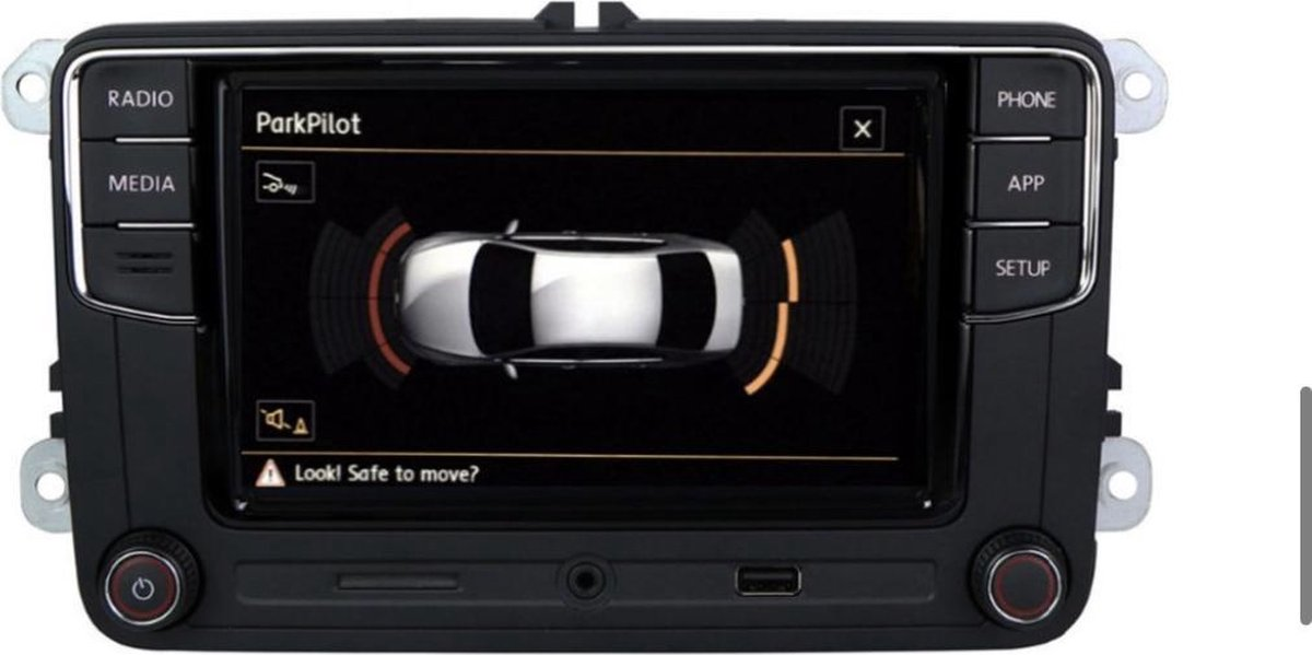 RCD330 NoName versie Apple CarPlay + Android Auto voor Volkswagen Seat RNS 510 315 310 Pasvorm
