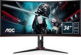 AOC CU34G2 - QHD Curved Gaming Monitor - 100hz - 34 Inch