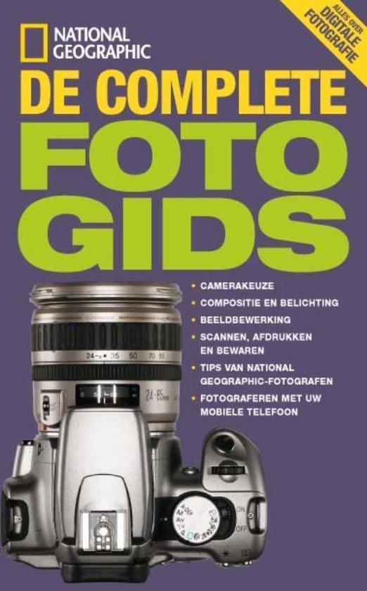 Cover van het boek 'De complete digitale fotogids'