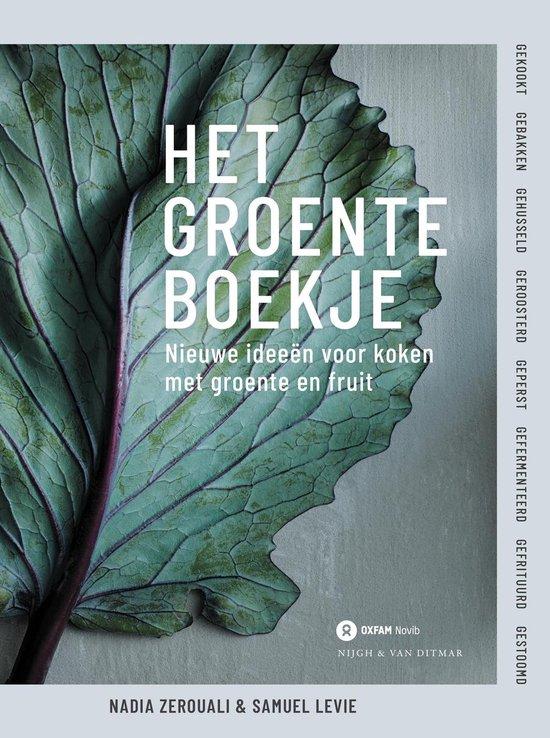 Boek cover Het groenteboekje van Samuel Levie (Hardcover)